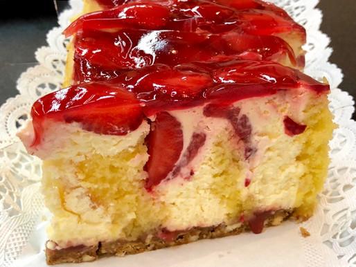 Knusper-Erdbeer-Wickeltorte🍓