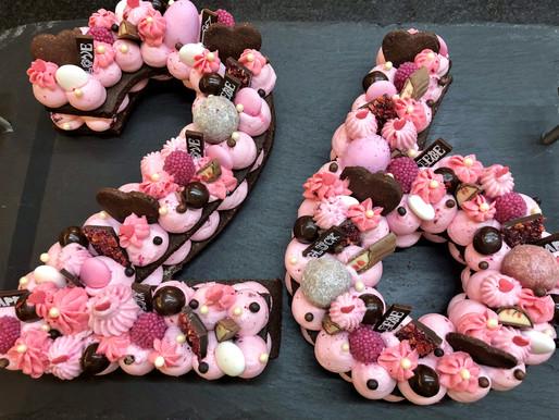 So sweet ... Ein Number Cake zaubert jedem Geburtstagskind ein Lächeln ins Gesicht!