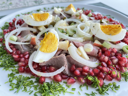 🇦🇹 Rindfleisch - Salat ❤️ Mal anders... (low carb, glutenfrei)