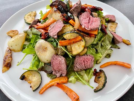 Mediterraner Steak - Salat ❤️