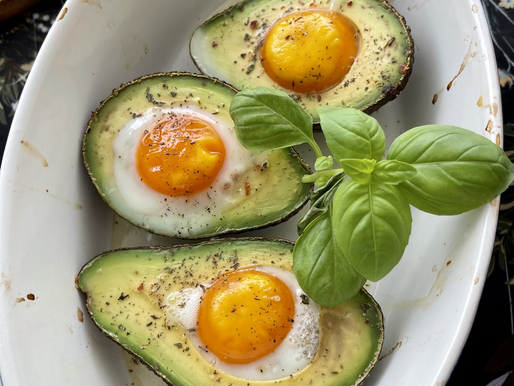 Ein Frühstücks-Ei mal anders ❤️ gebackenes Avocado-Ei ❤️