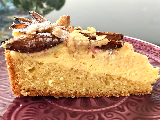 Zwetschk(g)en-Topfen-Rahm Kuchen