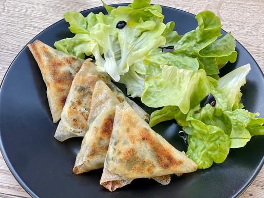 Samosa in der französischen Fusion Küche ❤️