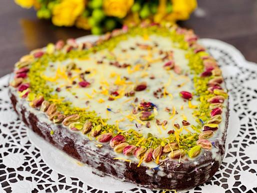 Schoko-Pistazien-Torte (low carb)