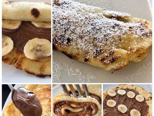 Nougat-Bananen-Palatschinken