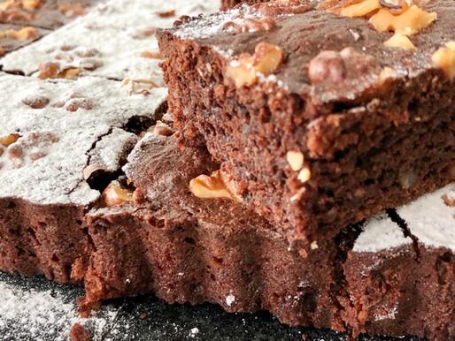 Dinkel-Schoko-Nuss-Brownie
