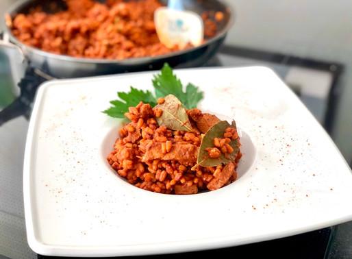 Reisfleisch mit Lamm und Dinkelreis 👌