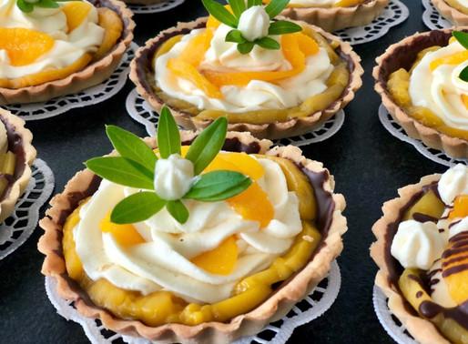 Pfirsich-Mango-Tartelettes ❤️