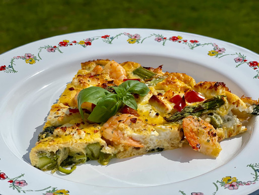 Bunte low carb Quiche (glutenfrei)
