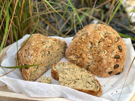 Dinkel - Zucchini  - Brot