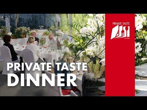 Private Taste Dinner -  es war ein einzigartig - seht selbst ...