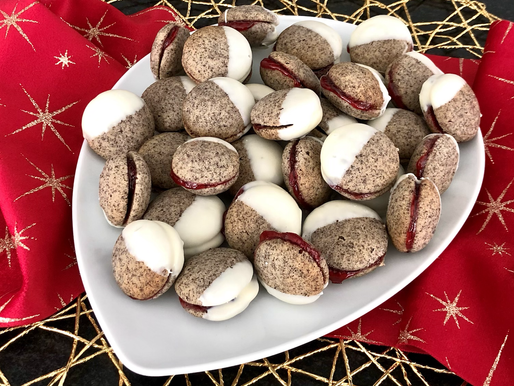 Mohn-Preiselbeere-weiße Schokolade
