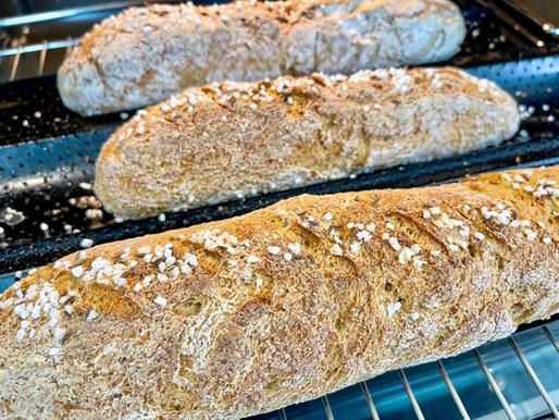 Baguette (glutenfrei & low carb)