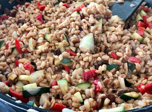 Orientalischer Dinkel-Gemüse-Reis