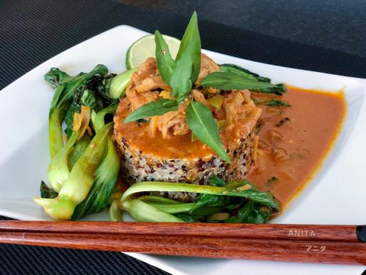 Massaman Curry mit Quinoa und Pak Choi ❤️