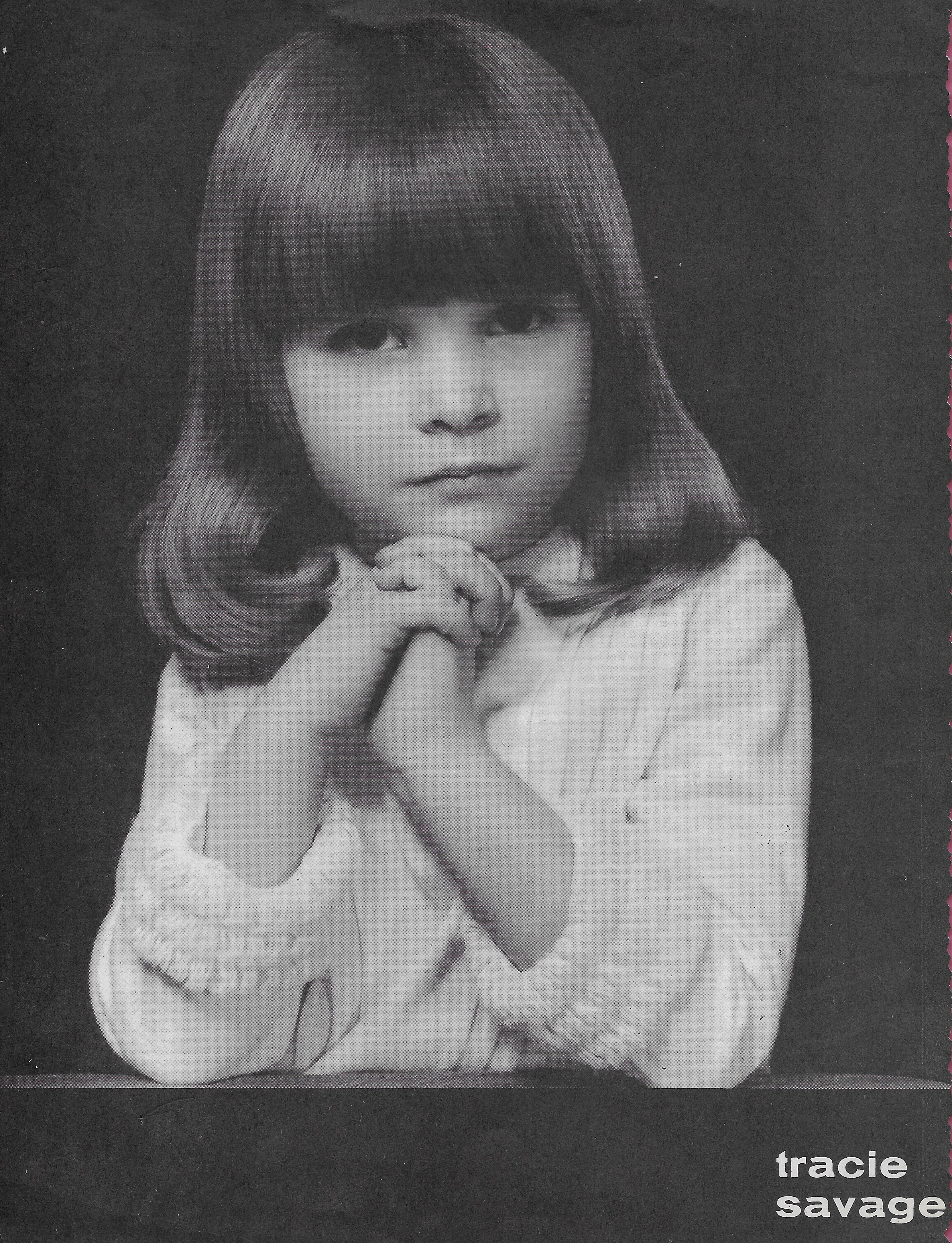 First head-shot, 3 years old