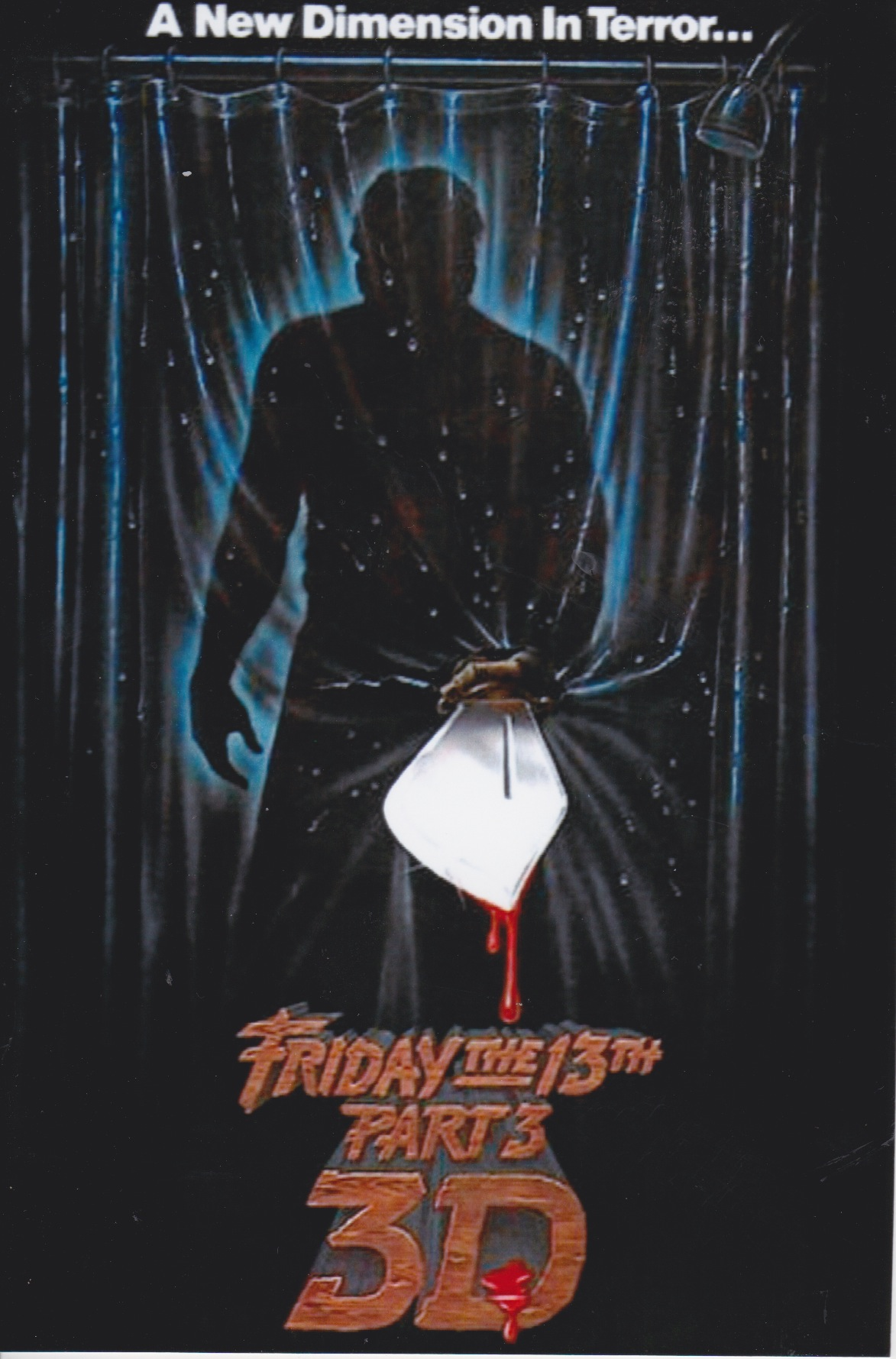 Friday the 13th, Part 3 Poster