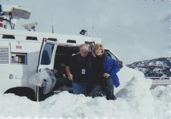 KNBC 94-2001 Reporting in snow