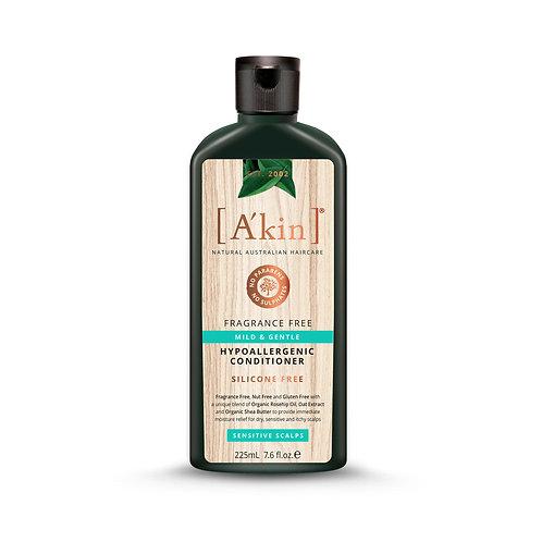 [A'kin] Mild & Gentle Fragrance Free Conditioner - 225ml