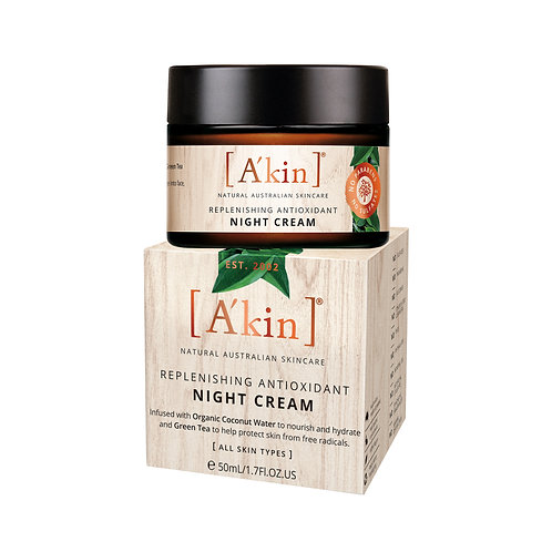 [A'kin] Replenishing Antioxidant Night Cream - 50ml