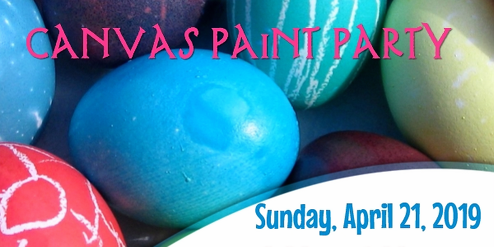 Easter Canvas Painting Party