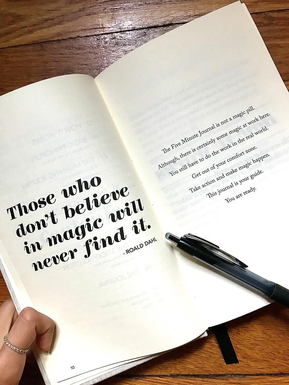 The Five Minute Journal Review. Gratitude Journal, Affirmation Journal.
