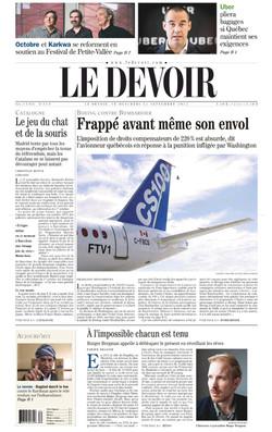 Frans dagblad Le Devoir