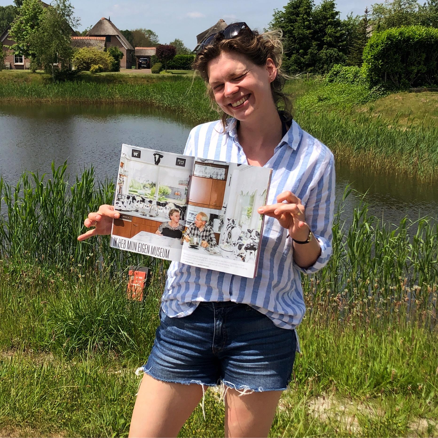 Twaalf pagina's in Het Blad bij NRC!
