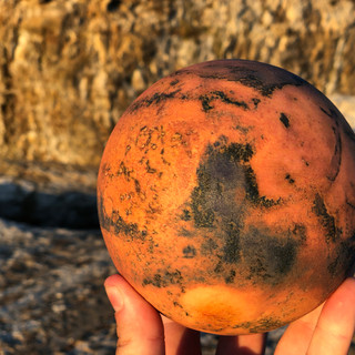 My favorite volcano, Syrtis Major, on the MARS Pro.