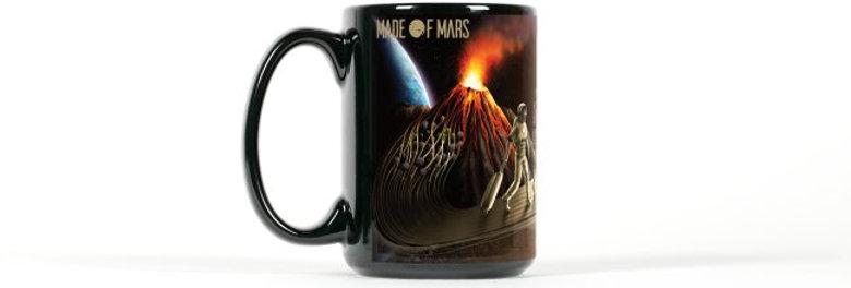 Made of Mars Vision Art Mug