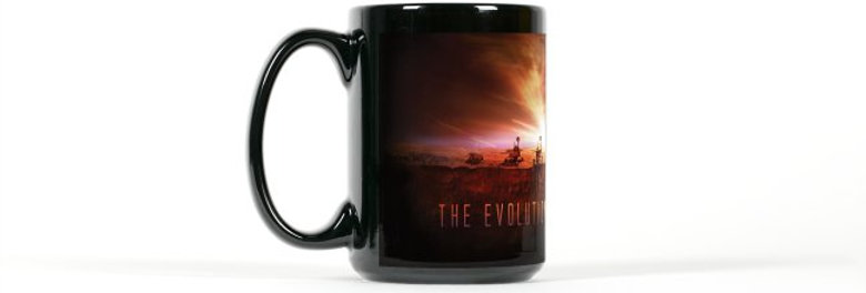 The Evolution of a Martian Mug