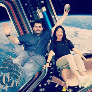 Floating under the LUNAR Pro at the 2019 ISTE Education Technology Conference
