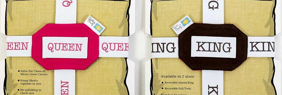 QUEEN / KING  Bedding Bandz®  (set of 2)