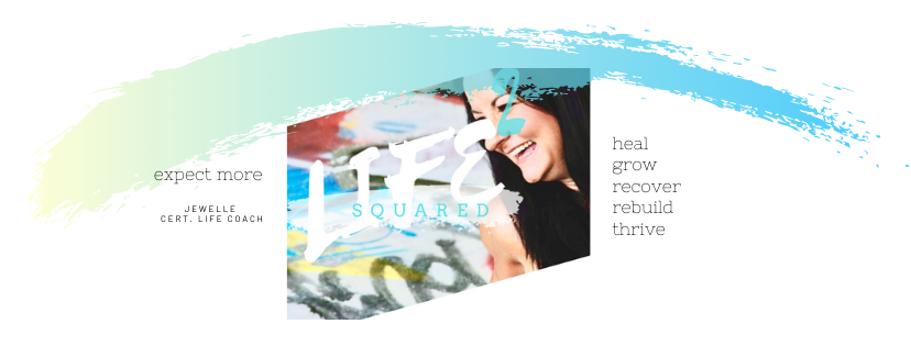 Life Squared, uplifting Logo