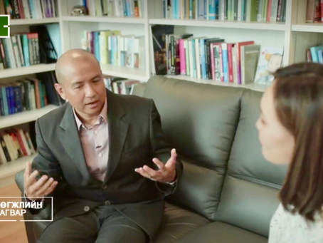 Interviewed on Singapore's education system for C1 Television Mongolia documentary, 20, March 2019
