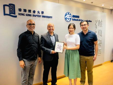 Gave a public lecture at Hong Kong Baptist University, 27 September 2019