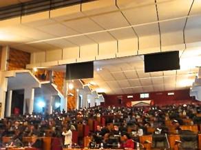 Addressed the Parliament of Rwanda, 1 July 2012