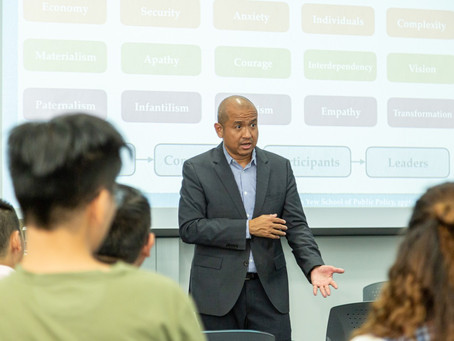 Gave the LAPP Distinguished Lecture, Hong Kong University of Science & Technology, 24 September 2019