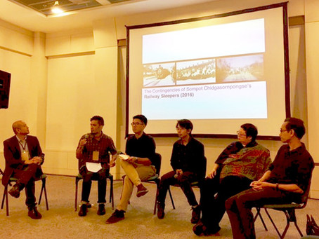 Moderated a panel on Thai cinema at Chiang Mai University, 18 July 2017