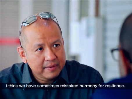 Interviewed on religious harmony in Singapore for CNA documentary, 14 August 2017