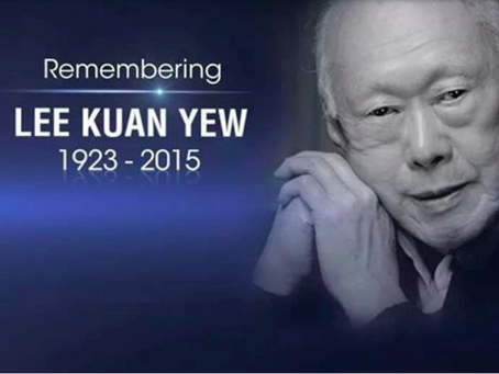 Interviewed about Lee Kuan Yew's legacy, Voice Of America Global, 26 March 2015