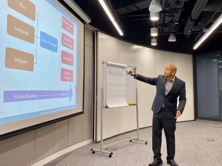 Gave a talk on public engagement to the Hong Kong Government, 5 November 2019
