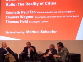 Spoke at the Salon Suisse, Venice Architectural Biennale, 9 October 2014