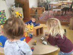 Spielen im Haus