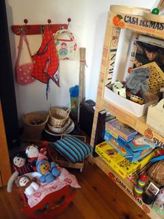 Kinder-Ecke im Haus