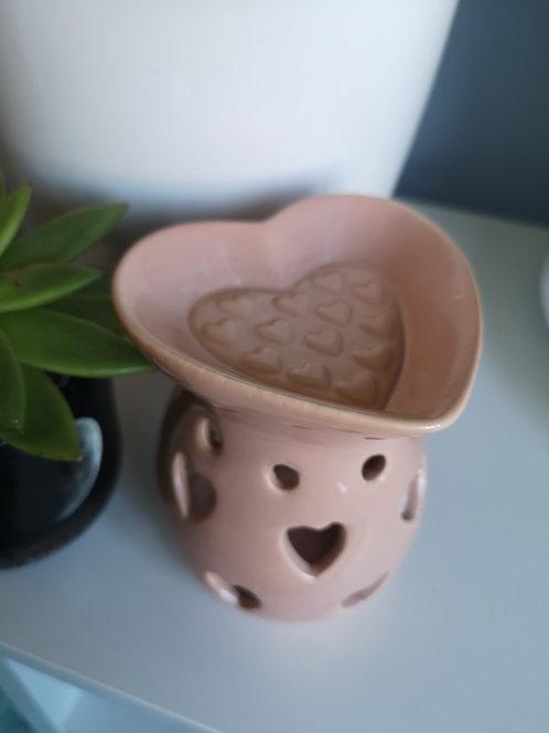 Heart wax burner