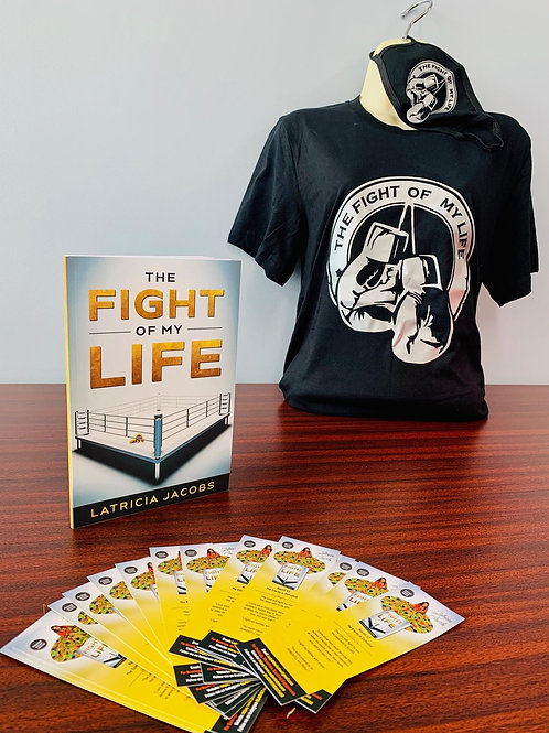 """""""The Fight of My Life"""" Round Neck T-Shirt"""