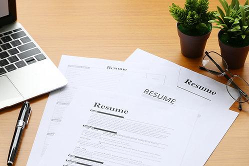 Transitional Resume