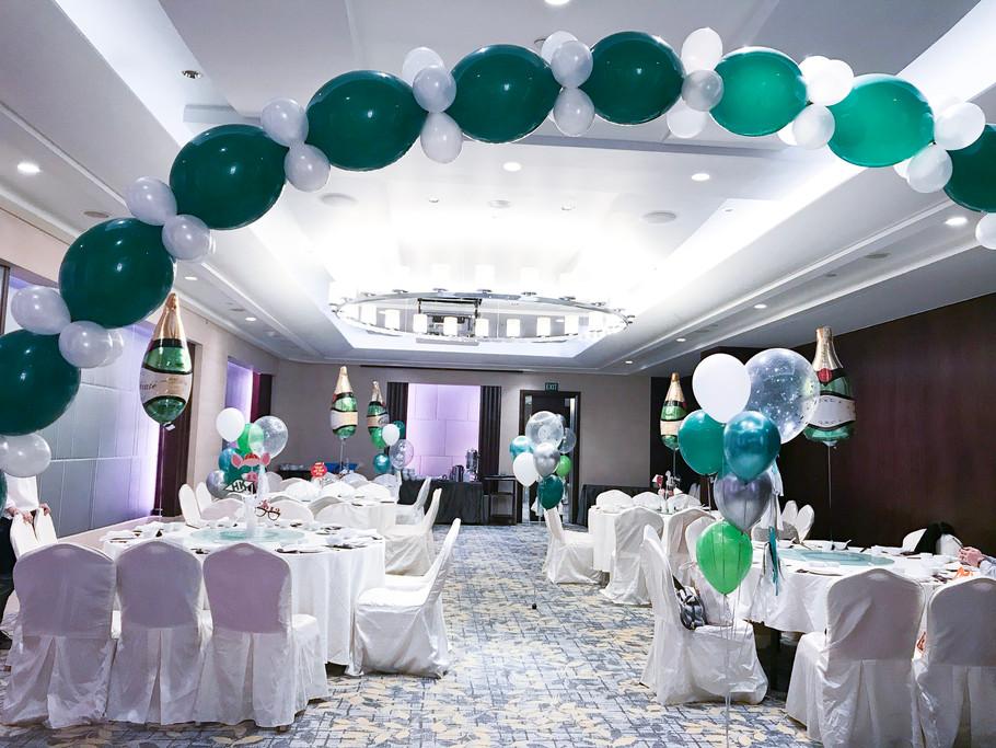 Ballroom company party