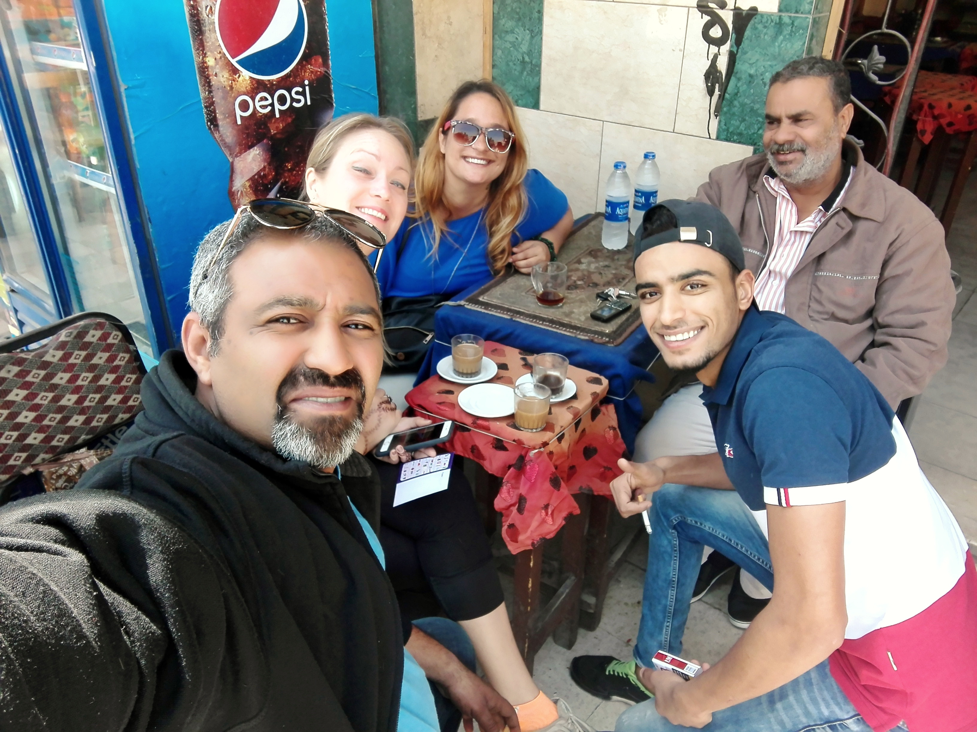 Local Cafe in Giza